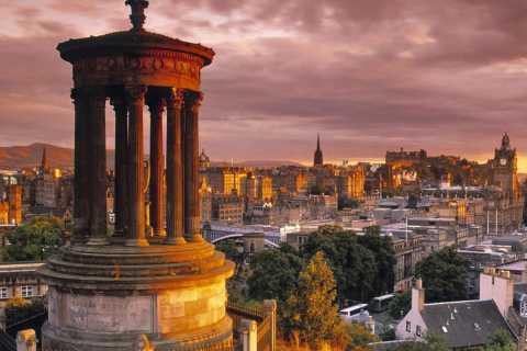 Edimbourg: visite à pied historique de 3 heures en italien