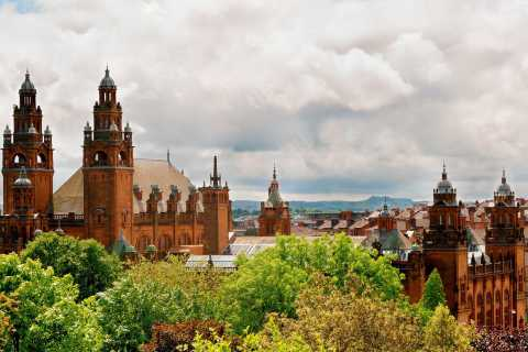 Édimbourg: visite de Glasgow, des lacs et du château de Doune en italien