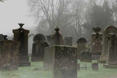 Edimbourg: visite fantôme de 2 heures en italien