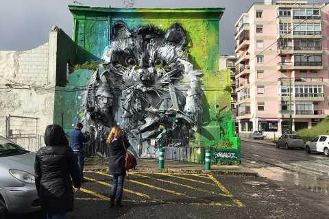 Lissabon: Streetart-Tour