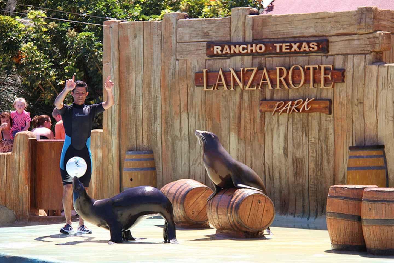 Eintrittsticket Park Rancho Texas Lanzarote