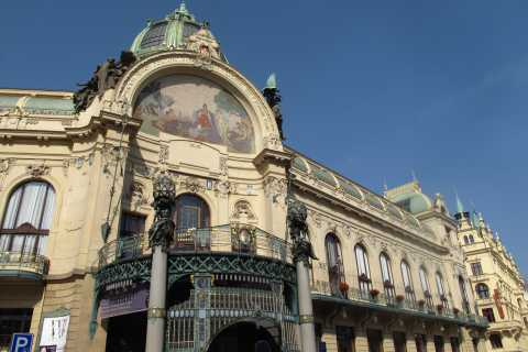 Prag: Privat kubismen & Art Nouveau Walking Tour