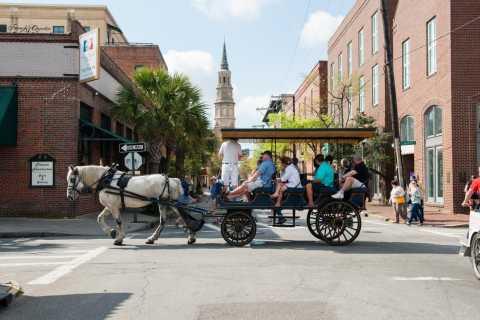 Charleston: Downtown Evening Carriage Tour