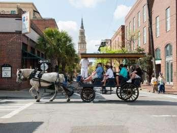 Charleston: Abendkutschentour in die Innenstadt
