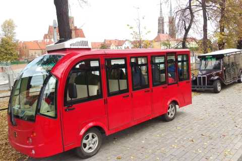 Wroclaw: 2-Hour Tour by Electric Car