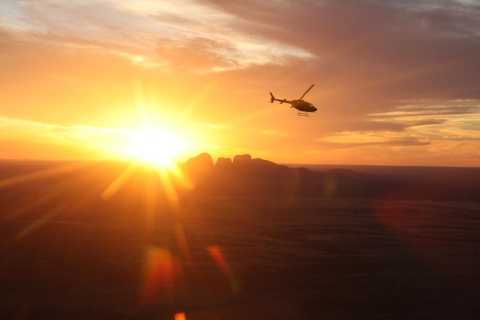 Ayers Rock Scenic Helicopter Flight to Uluru and Kata Tjuta