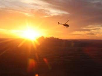 Ayers Rock: Helikopter-Flug über Uluru & Kata Tjuta