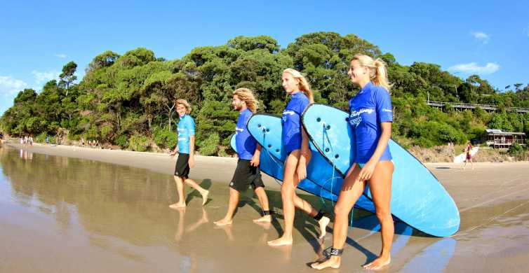 Byron Bay: Surfkurs in kleinen Gruppen