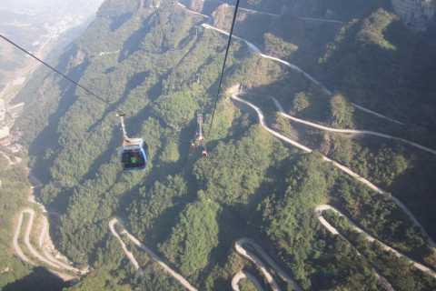 From Zhangjiajie: Full-Day Trip to Tianmen Mountain