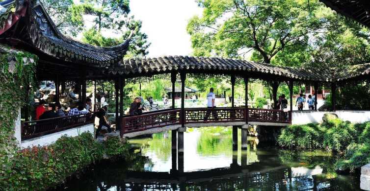 From Shanghai: Private Full-Day Suzhou Gardens