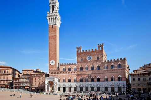 Siena, San Gimignano Chianti Wijn uit Pisa van Minivan