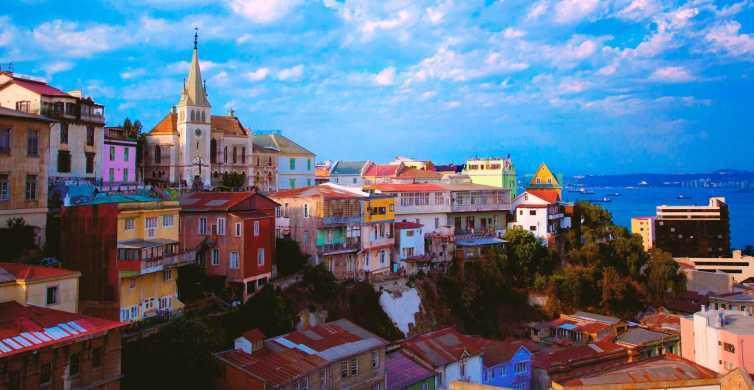 De Santiago: Excursão de 1 Dia a Valparaíso e Viña del Mar