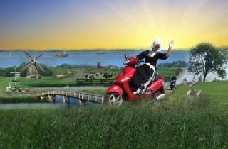 Holland mit Elektro-Roller: Windmühlen, Clogs und Käse