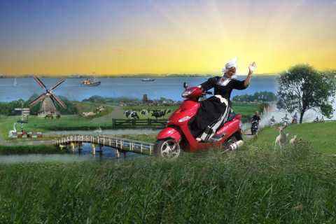 Holland by Electric Scooter: Windmills, Clogs & Cheese