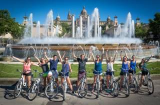 Barcelona: 3-stündige Fahrradtour durch die Stadt