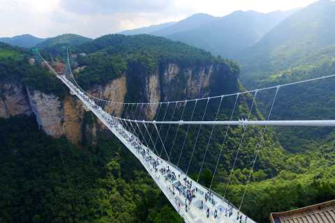 Private Cycling Day Trip to Zhangjiajie Fairy Stream
