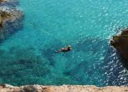 Cagliari: Halbtägiges Coasteering