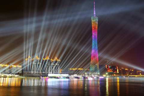 Guangzhou: Pearl River Night Cruise with Buffet Dinner