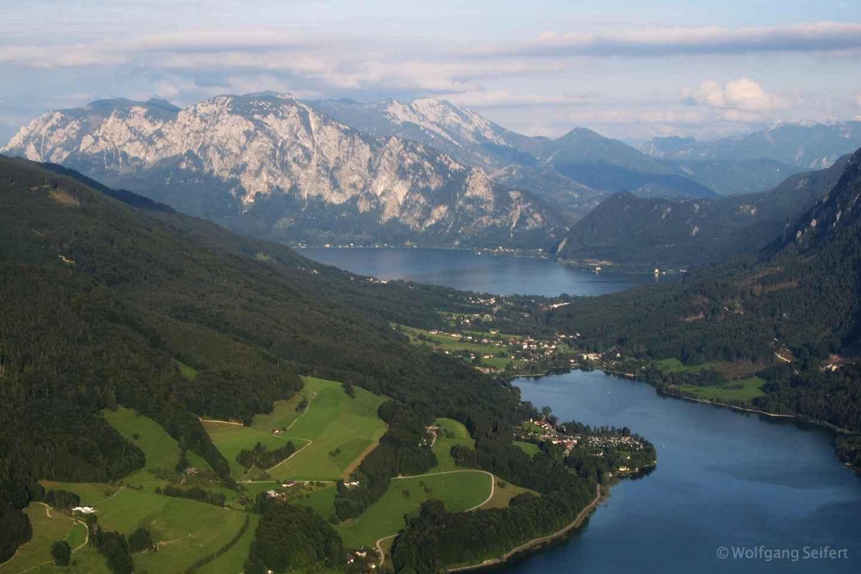 Ab Salzburg: Salzkammergut-Berge und Seen