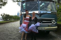 Colônia: Tour Nostálgico em Alemão em Ônibus Vintage