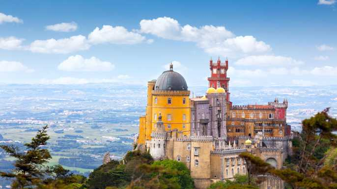 Sintra: entrada sin colas al palacio y al parque da Pena
