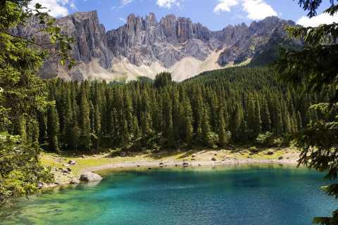 Bolzano: Great Dolomites Road Private Day Trip by Car