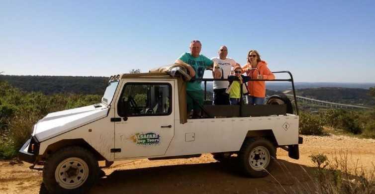 Algarve całodniowa Jeep Safari Tour z obiadem