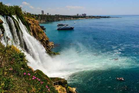Antalya City Tour and Duden Waterfalls Visit with Boat Trip