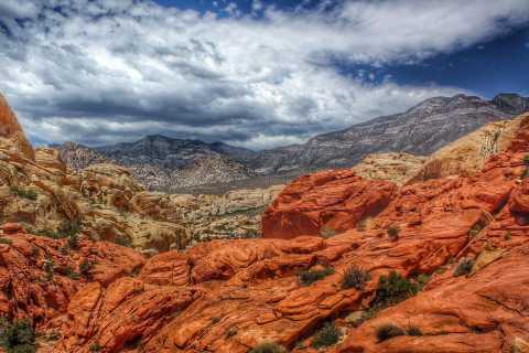 From Las Vegas: Red Rock Canyon Tour in German