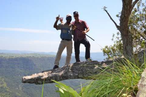 De Durban: Excursão Privada Oribi Gorge e Lake Eland Adventure