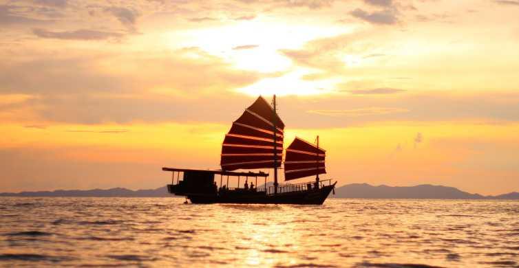 Krabi: crociera di 6 ore al tramonto con snorkeling e pasto