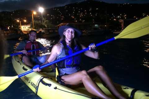 St. Thomas: Night Kayak in the Lagoon