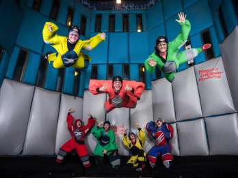 Las Vegas: Indoor Skydiving – Fliegen Lernen