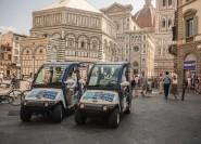 Florenz: Umweltfreundliche Tour mit dem Elektrowagen