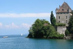 De Genebra: Cruzeiro Yvoire Castle & Lake Geneva