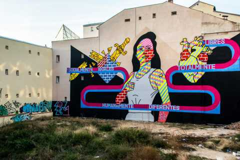 Madrid: Street Art Tour with Local Graffiti Hunter