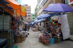 La Paz: Excursão Particular a Pé Customizada com um Local