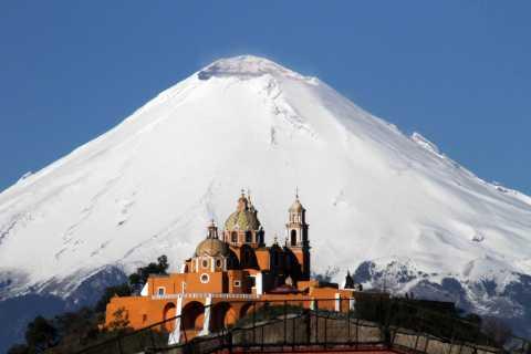 From Mexico City: Cholula Pyramid & Puebla Private Tour