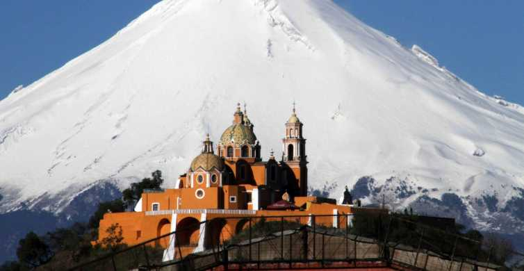 From Mexico City: Cholula Pyramid & Puebla Private Tour