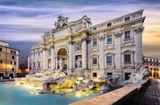Rom: Kombinierte Tour durch den Vatikan und Rom bei Nacht