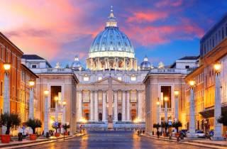 Rom 3-stündiger Spaziergang: St. Peter, Pantheon und Aperitivo