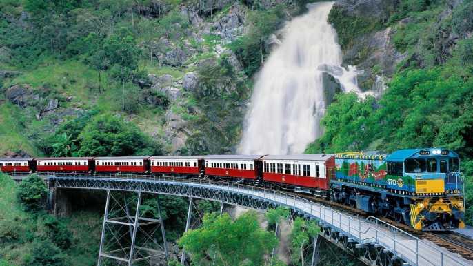 Ferrocarril panorámico de Kuranda y tour de Palm Cove
