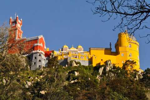 From Lisbon: Sintra, Pena Palaces, and Capuchos Convent Tour