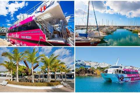 Lanzarote: Bootsfahrt Puerto Calero − Puerto del Carmen