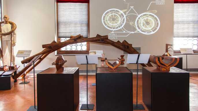 Venecia: ticket para el museo de Leonardo da Vinci