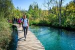 From Split or Trogir: Zagreb Transfer & Plitvice Lakes Tour