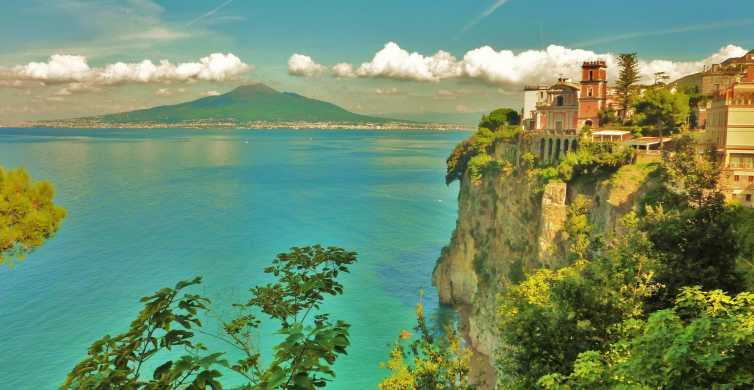 From Naples: Day Trip to Sorrento, Positano and Amalfi