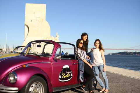 Lisbon: Half-Day Tour by Vintage Beetle Convertible