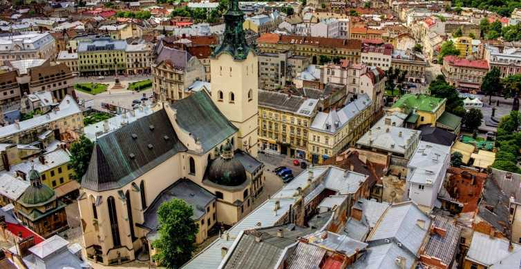Lviv: All-Inclusive Customized Guided Tour w/ Lunch