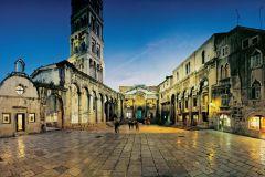 Split: Excursão a Pé e Palácio de Diocleciano